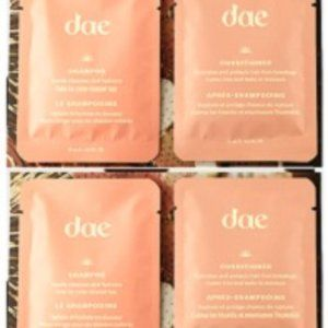 Dae Shampoo & Conditioner Sample 4X 0.5oz 15ml NEW